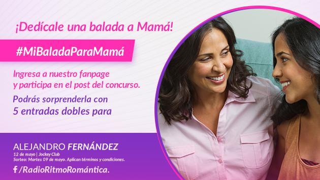 Concurso 'Mi Balada para Mamá'
