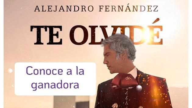Conoce a la ganadora del concurso de Mariachis de Alejandro Fernández