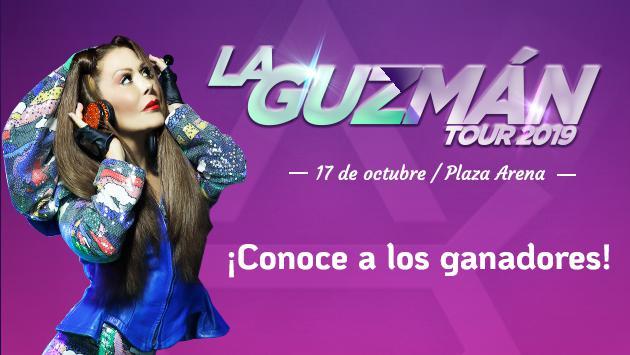 Conoce a los ganadores de entradas para el concierto de Alejandra Guzmán