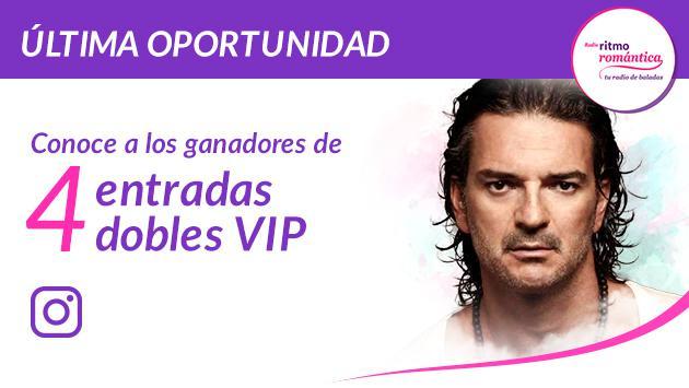 Conoce a los ganadores de las 4 entradas dobles para el concierto de Ricardo Arjona en Lima