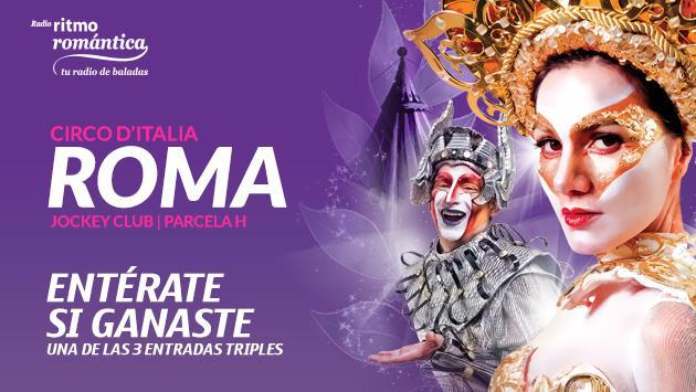 ¡Conoce a los ganadores de las entradas triples para el Circo D'Italia!