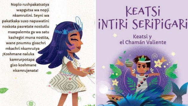 Cuentos escolares revaloran cultura y lenguas originarias de la Amazonía del Cusco