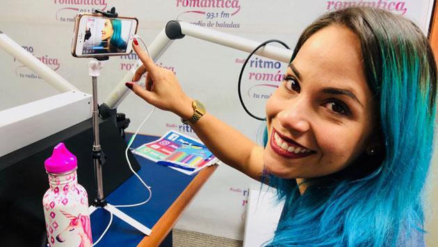 Cynthia La Maquilladora se convirtió en 'Cómplice' por un día de Sandra Muente
