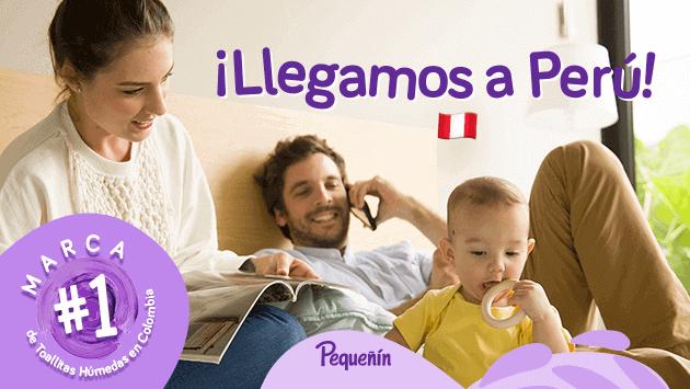 Dale un mejor cuidado a tu bebé con las toallitas húmedas 'Pequeñín', libres de plástico