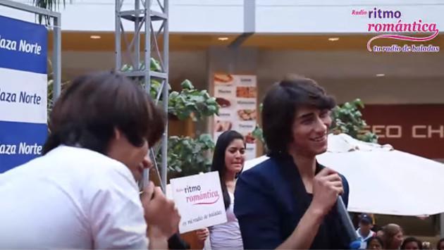 Daniel Lazo conoció a su doble en el Karaoke Romántico de Ritmo Romántica