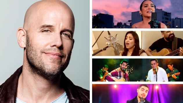 Daniela Darcourt, Idéntico, Nicole Pillman y Álvaro Rod lanzan covers de Gianmarco