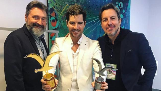 David Bisbal ganó Gaviota de Oro y Plata en Viña del Mar