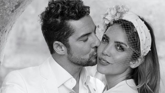 David Bisbal y Rosanna Zanetti celebran su primer aniversario de bodas