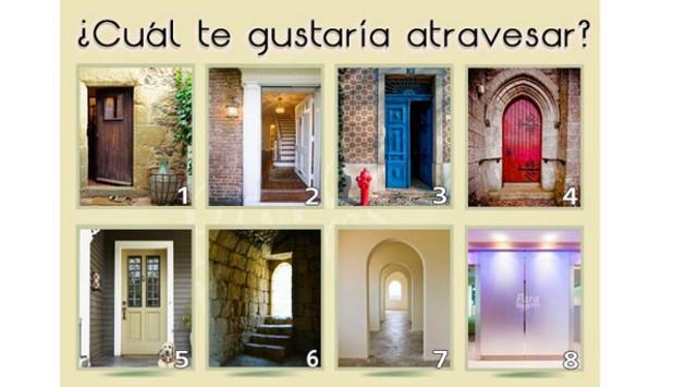 ¡Dime cuál de estas puertas te gustaría atravesar y te diré cómo eres!
