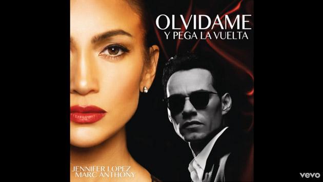 Disfruta de Marc Anthony y Jennifer López cantando 'Olvídame y pega la vuelta' [VIDEO]