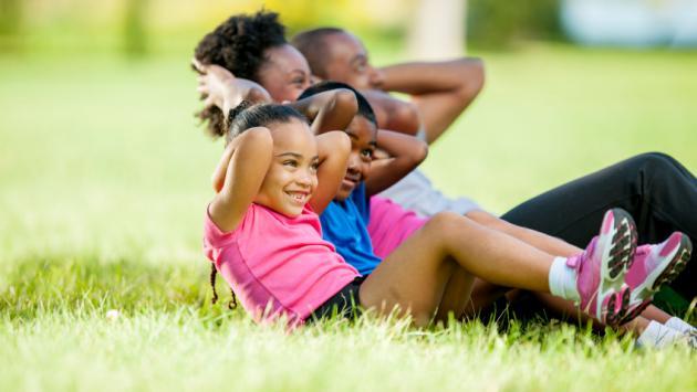 Ejercicios que puedes realizar con tu hijo