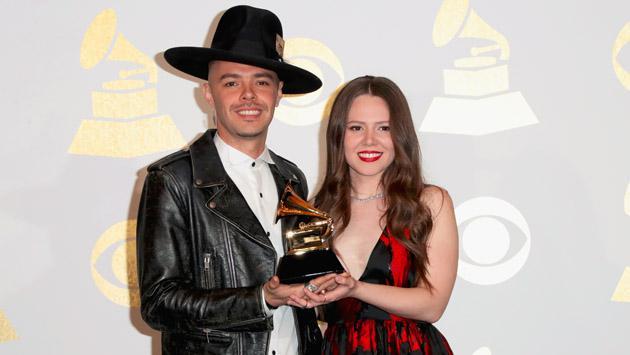 El discurso de Jesse & Joy en los Grammy a favor de la comunidad hispana