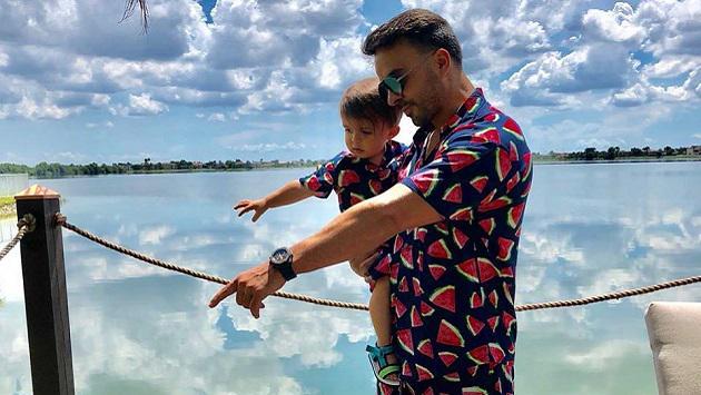El fin de semana de padre e hijo de Luis Fonsi