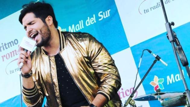 Jair Mendoza agradeció al público del Festival de Baladas