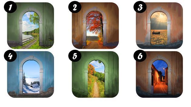 ¡Elige la puerta que más te gusta y descubre rasgos de tu personalidad!