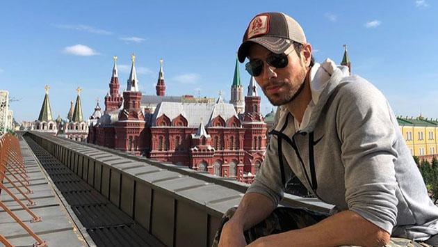 "Enrique Iglesias: ""Soy 50% ruso"""