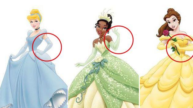 Entérate por qué algunas princesas de Disney usan guantes