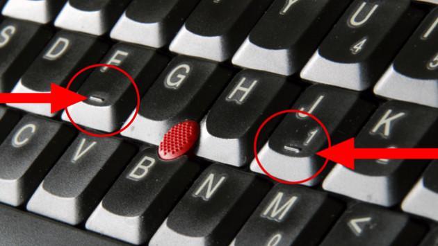 Entérate por qué la F y la J de tu teclado tienen un raya