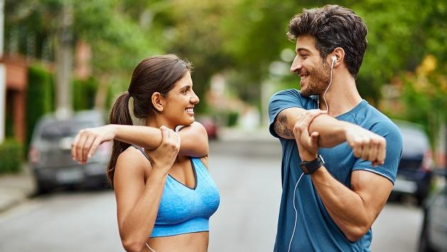 Ejercicios para entrenar en pareja
