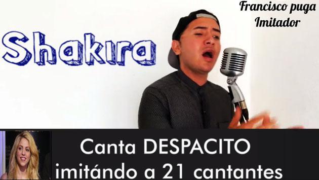 'Despacito' en las voces de Shakira, Alejandra Guzmán y Thalía [VIDEO]