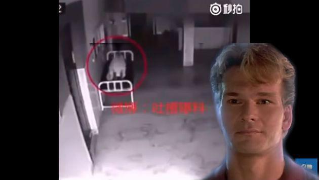 ¿Será real? ¡Supuestamente, un alma abandona el cuerpo de una persona al estilo 'Ghost'!