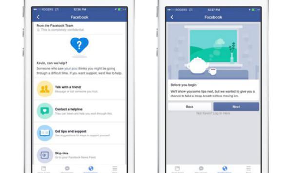 Facebook cuenta con herramienta para evitar posibles suicidios