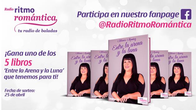 Gana 1 de los 5 libros 'Entre la Arena y la Luna' de Blanca Ramirez
