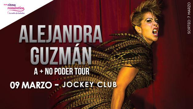 Ganadores de entradas de Alejandra Guzmán en Lima