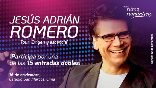 Gana Entradas Para El Concierto De Jesús Adrián Romero Concursos Radio Ritmo Romántica Radio Ritmo Romántica