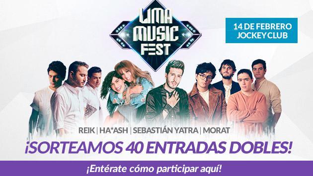 Gana entradas para el Lima Music Fest