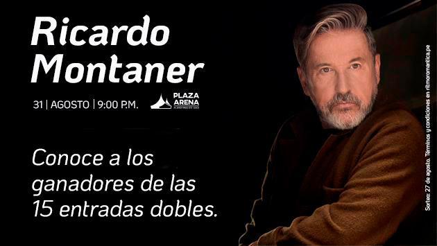 ¡Ganadores del concierto de Ricardo Montaner!