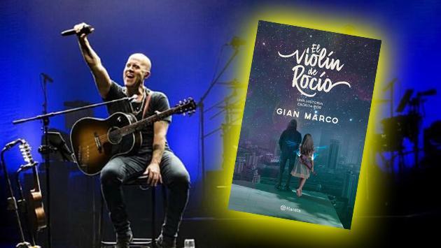 GianMarco debuta como escritor de ficción con 'El violín de Rocío'
