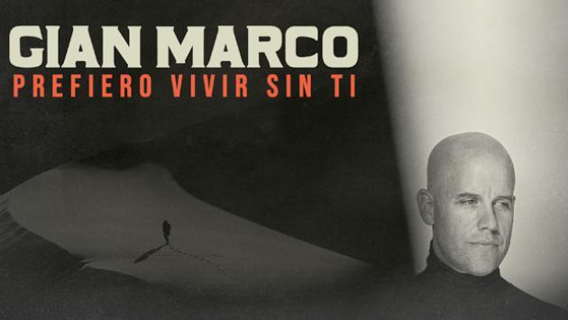 GianMarco estrenó su nuevo sencillo 'Prefiero vivir sin ti'