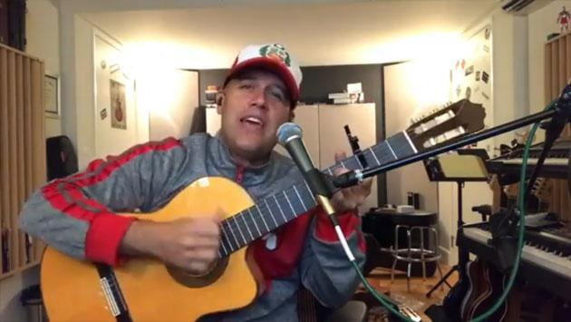 GianMarco le canta a Perú antes del partido con Argentina [VIDEO]