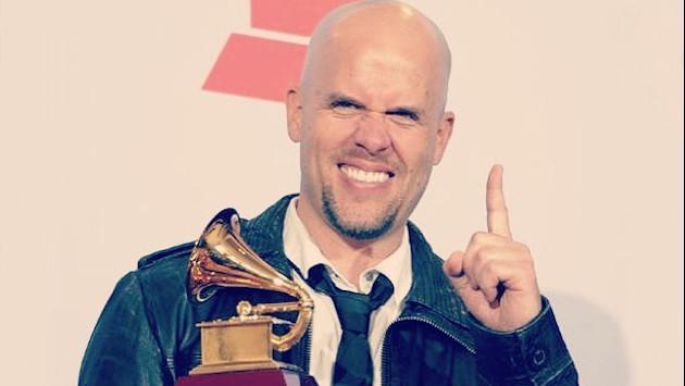 GianMarco llegó a Las Vegas por su cuarto Latin Grammy