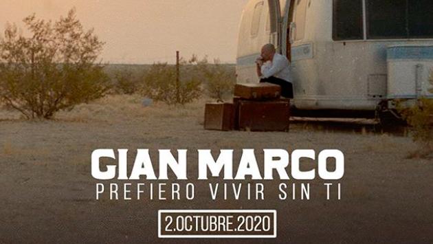 Gianmarco revela el estreno de 'Prefiero vivir sin ti'