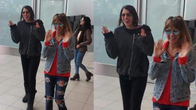 Ha*Ash llegó a Lima y HOY estará en la cabina