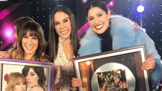 Ha*Ash fueron reconocidas con dos Discos de Platino
