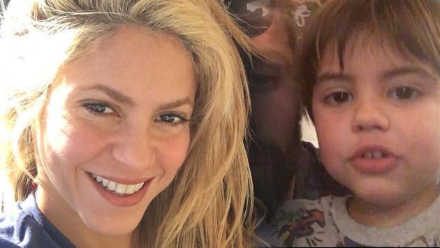 Hijo de Shakira cantó por primera vez para Instagram [VIDEO]