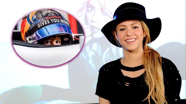 Hijo de Shakira podría ser un corredor de Fórmula Uno