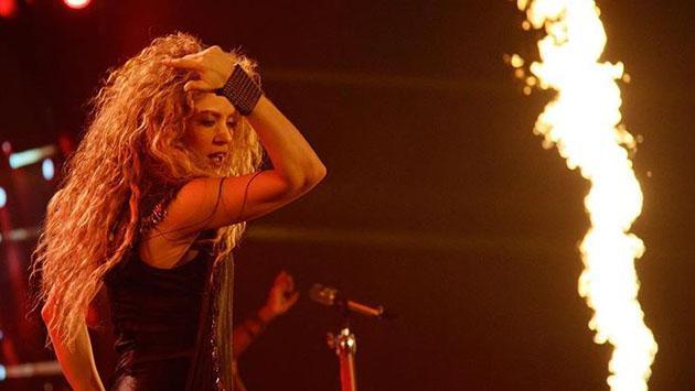 Hijos de Shakira se robaron el show en concierto de su madre