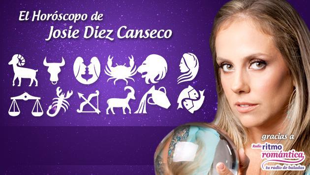 Horóscopo de hoy de Josie Diez Canseco: 02 de octubre
