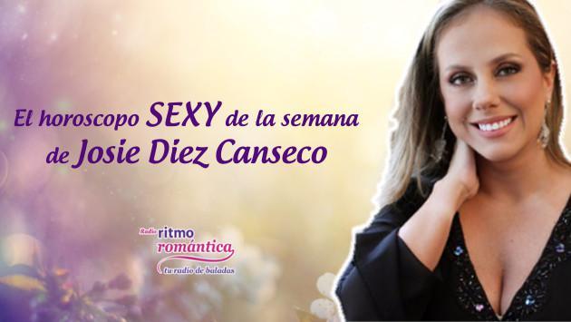 Horóscopo sexy de Josie Diez Canseco