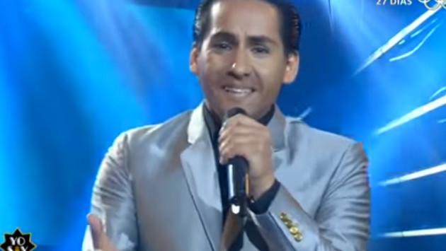 ¡Imitador de Cristian Castro convenció al jurado de 'Yo soy'!