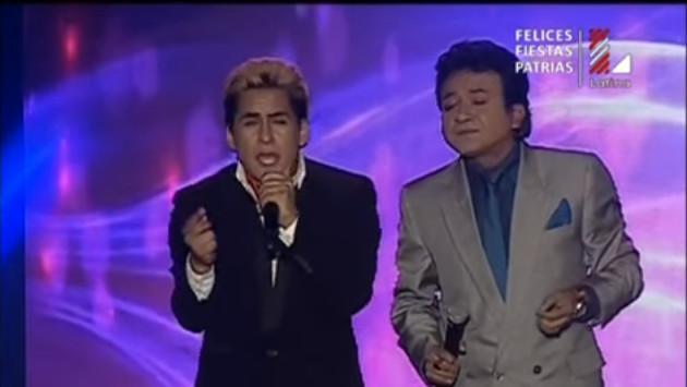 Imitador de Cristian Castro emocionó al público cantando junto a imitador de José José