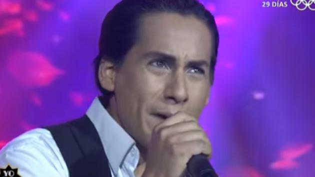 Imitador de Cristian Castro hizo 'llorar las rosas' de felicidad por buena presentación