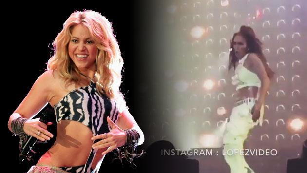 Jennifer Lopez le hace la competencia a Shakira moviendo las caderas [VIDEO]
