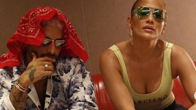 ¿Qué planean Jennifer López y Maluma?