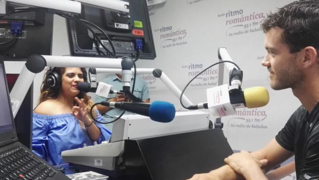 Juan Carlos Rey De Castro se convirtió en el 'Cómplice' de Sandra Muente por un día