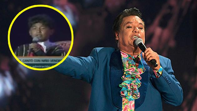 Juan Gabriel y la vez que cantó en Perú con un niño vendedor de caramelos [VIDEO[